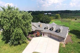 Ann Arbor Area Real Estate for Sale 4601-mushbach-aerial